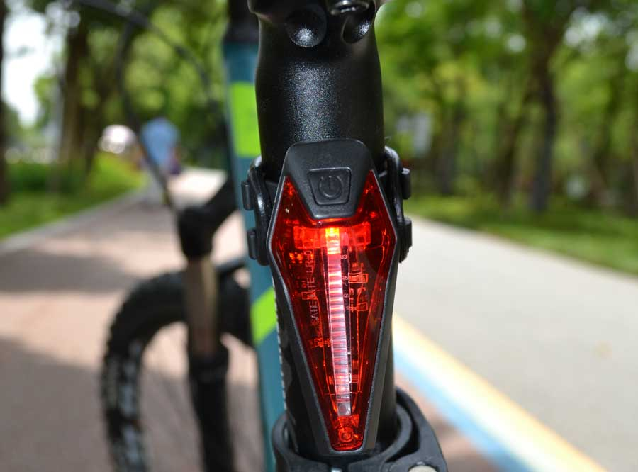 Sate-Lite bike rear light with Germany StVZO standard LR-01