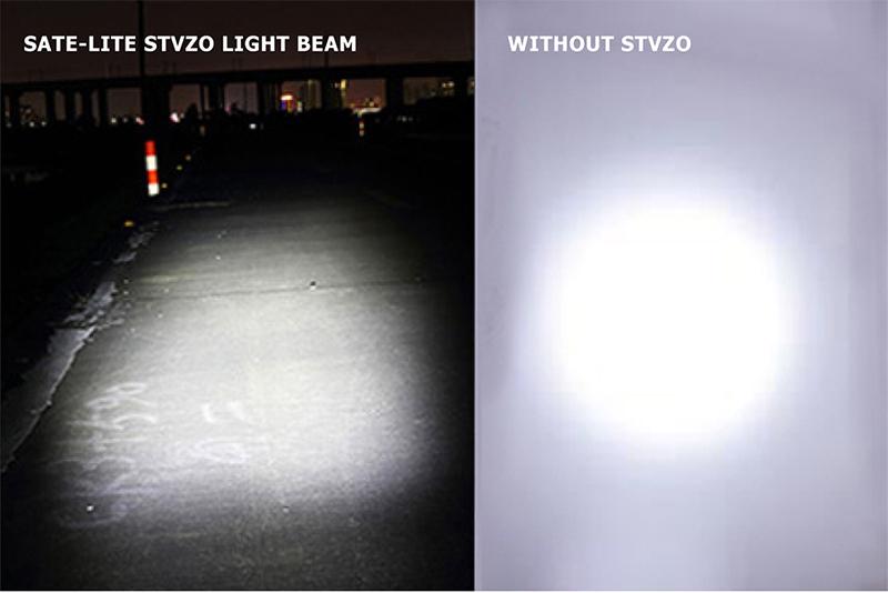 StVZO bike light for ABE e-scooter