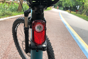 Newest USB rechargeable bike light set.