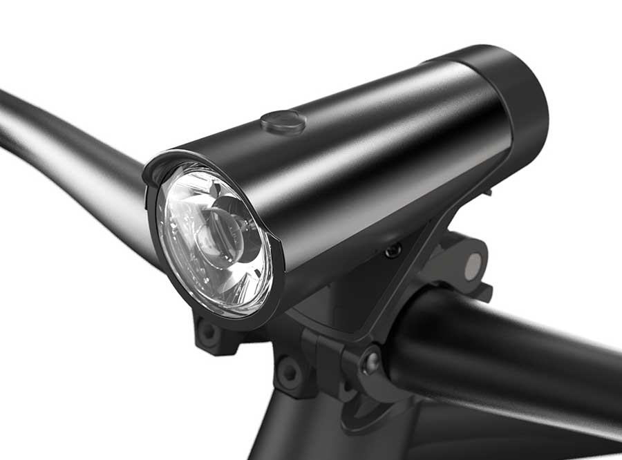 LF-01 Sate-lite USB rechargeable bike headlight/ bicycle light