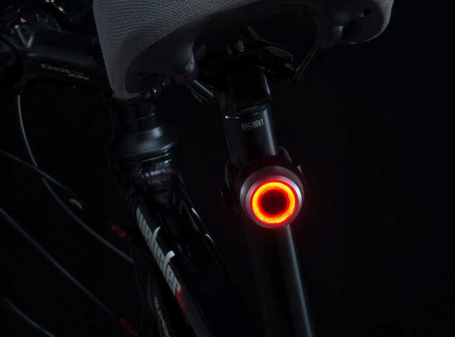 LR-03 Sate-Lite USB rechargeable bike light with CE/FCC approved