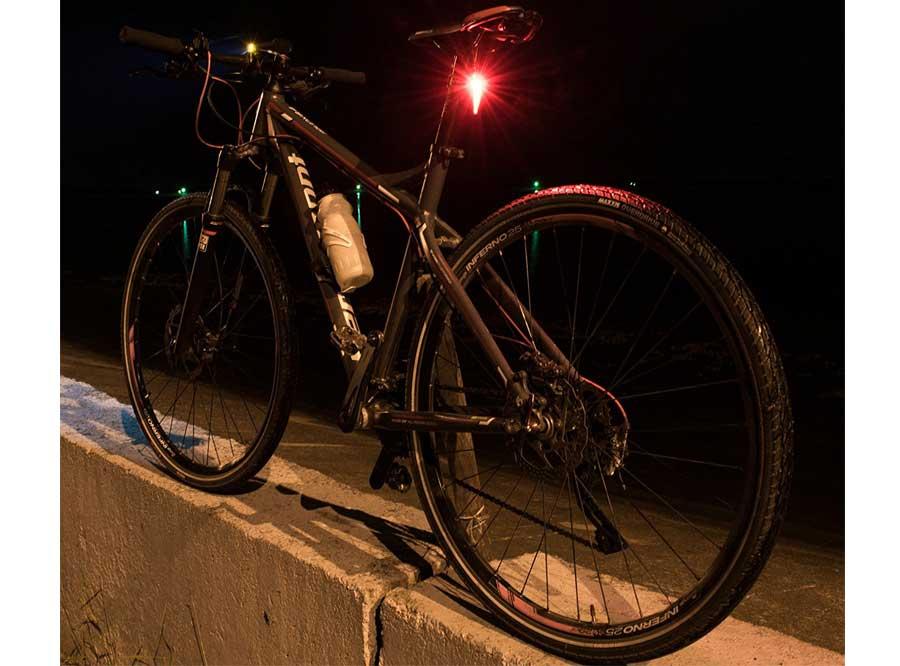 LR-01 Sate-Lite bike rear light with Germany StVZO standard