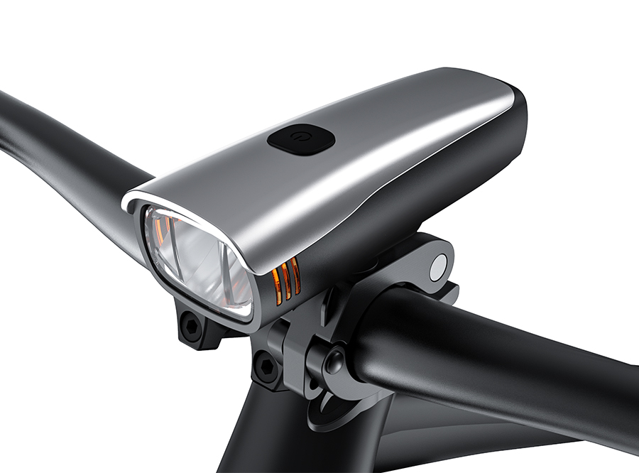 Sate-Lite StVZO rechargeable bicycle headlight/ bike front light LF-10P