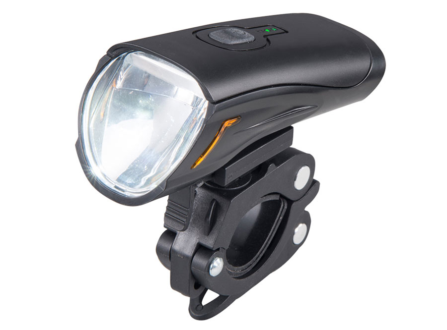 2019 Sate Lite USB rechargeable headlight with German StVZO certificate IPX5 waterproof CREE LED 40 lux