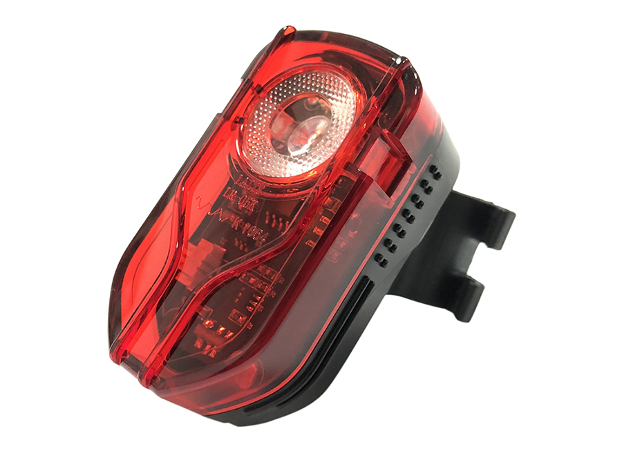 LR-05K sate-lite USB rechargeable rear light German StVZO certificate IPX-5 waterproof