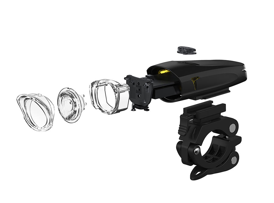 LF-13 Sate-Lite USB rechargeable bicycle headlight with StVZO certificate