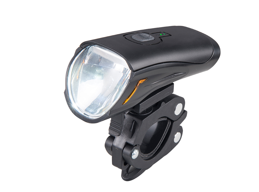 2019 Sate Lite USB rechargeable headlight with German StVZO certificate IPX5 waterproof CREE LED 50 lux