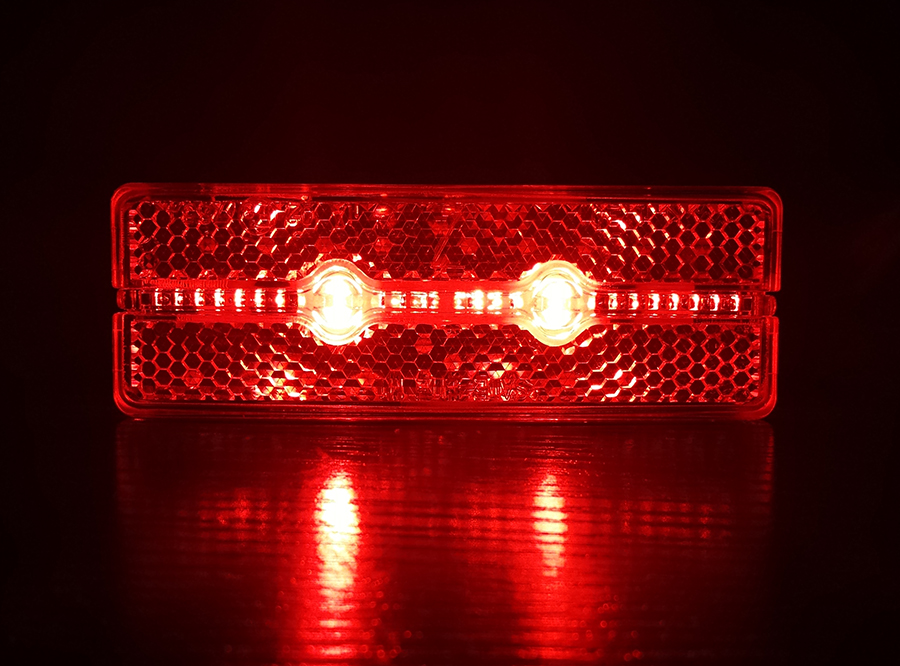 Escooter/ ebike/ hub dynamo rear light/ bicycle rear light/bicycle taillight M1