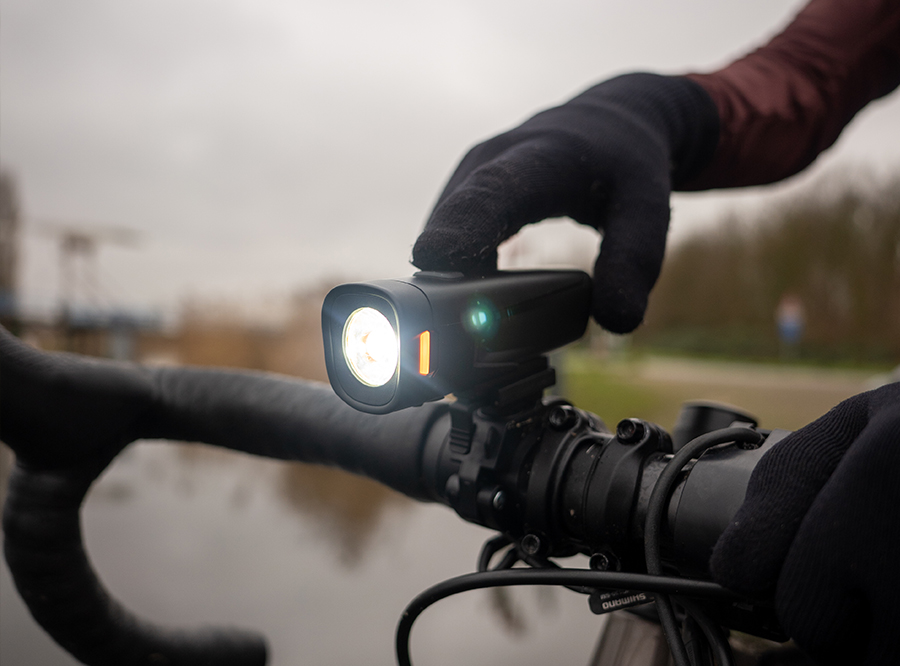 LF-22 NEW Sate-Lite USB rechargeable bicycle headlight with 500 Lumen