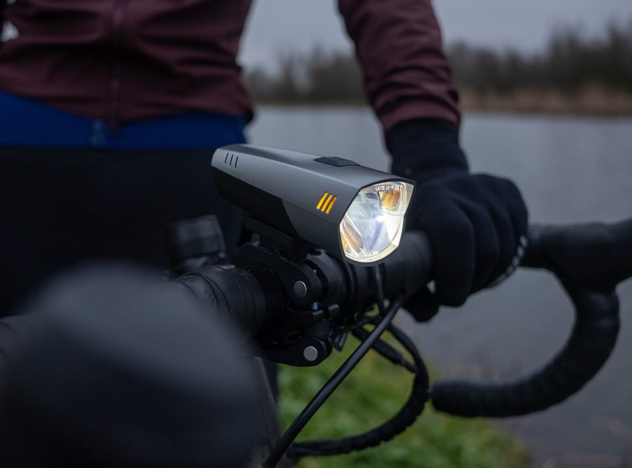 LF-16 NEW Sate-Lite USB rechargeable bicycle headlight with StVZO certificate