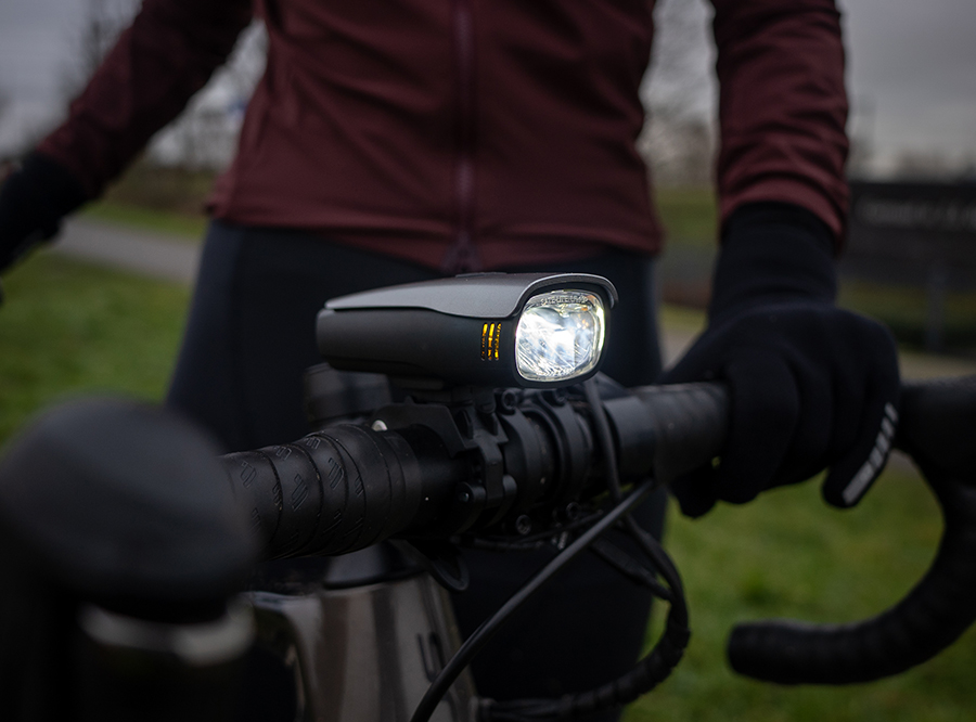 LF-10P Sate-Lite StVZO rechargeable bicycle headlight/ bike front light