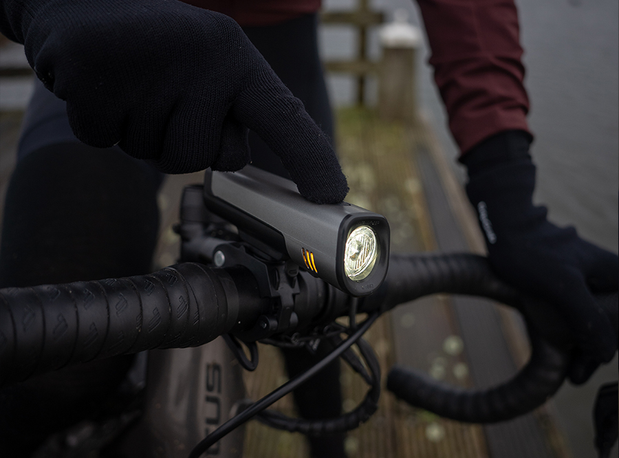 LF-08 Sate-Lite StVZO rechargeable bicycle headlight/ bike front light