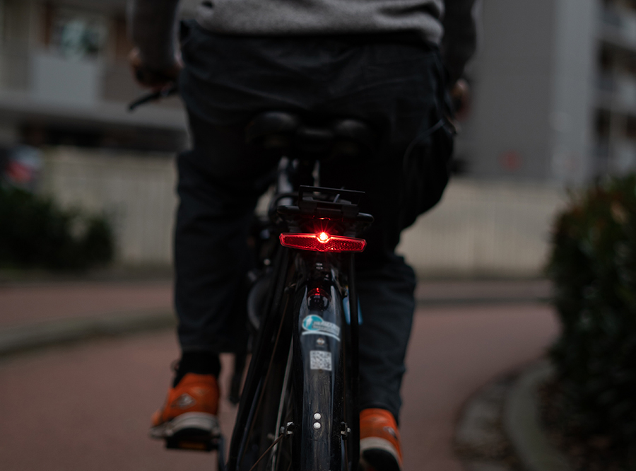 M8 ebike/ hub dynamo rear light/ bicycle rear light/bicycle taillight with StVZO