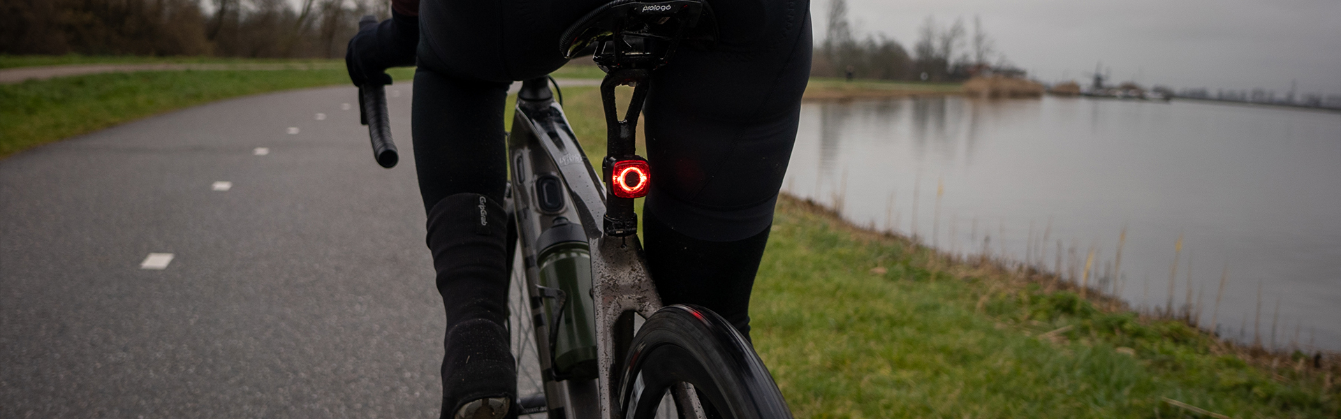 M3 Sate-lite StVZO approved bike rear light for ebike, escooter and hub dynamo