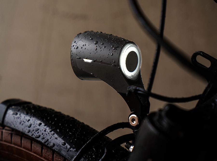 Sate-lite OSRAM 50lux ebike light ISO 6721-1 StVZO ECE eletric bike headlight with ECE reflector front fork 6-58V
