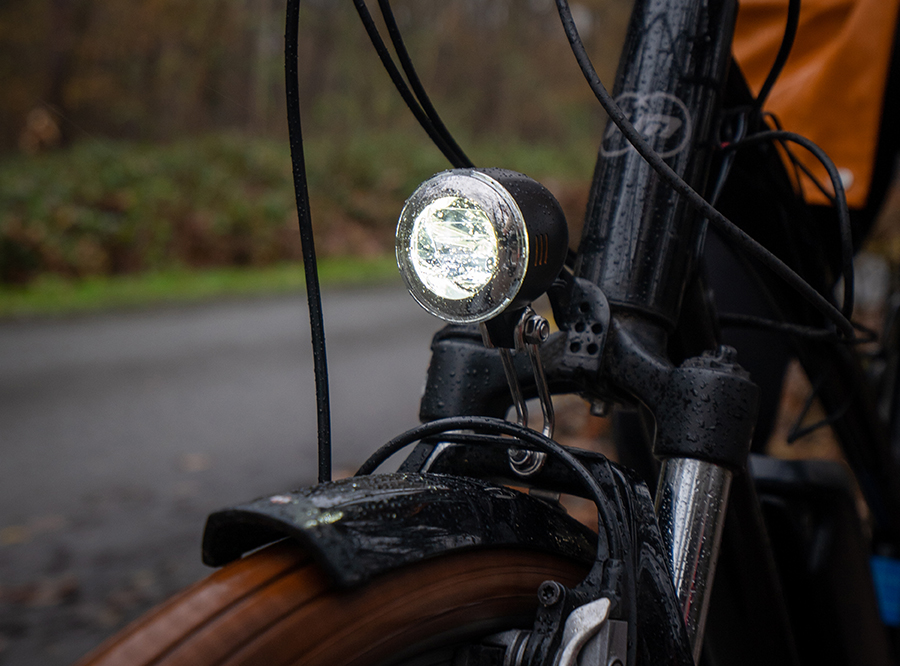 Sate-lite CREE 40lux ebike light  StVZO  eletric bike headlight front fork 6-48V