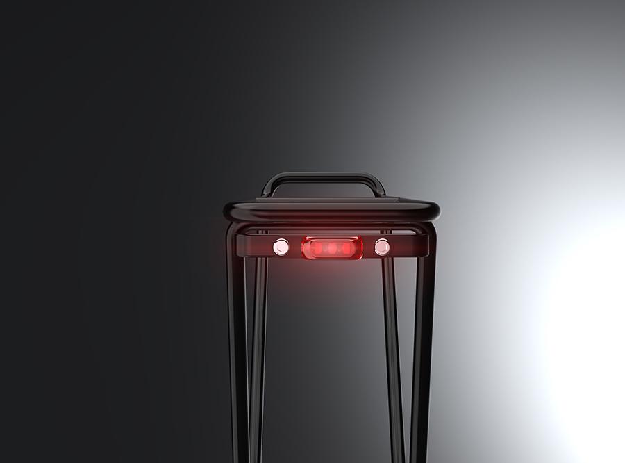 Sate-lite OSRAM ebike light  CE Rohs eletric bike tail light  mount on Carrier 6V/12V